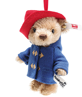 Steiff 60th Anniversary Paddington Ornament 690709